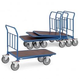 Chariot emboîtable avec 1 plateau antidérapant