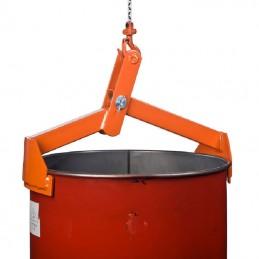 Pince pour le levage vertical de fûts en acier capacité 350 kg