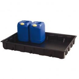 Bac de rétention 1230 x 830 mm capacité de 140 litres.