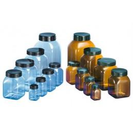 Pots transparents PVC à larges ouvertures, une gamme de 50 à 2000 ml