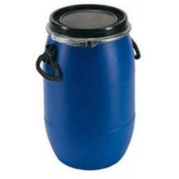 Fût à ouverture totale 30 litres pour transports de matières dangereuses.