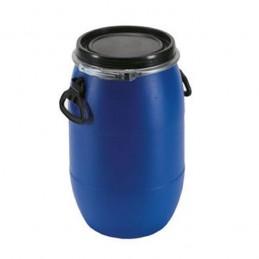 Fût à ouverture totale 60 litres pour transports de matières dangereuses.
