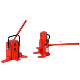 Cric hydraulique avec crochet de levage 3 positions