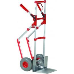 Diable 250 kg aluminium pour utilisation intensive.