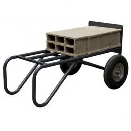 Diable renforcé pour le transport et le BTP idéal pour le transport des agglos.