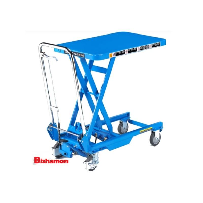 Table élévatrice 150 kg manuel Bishamon