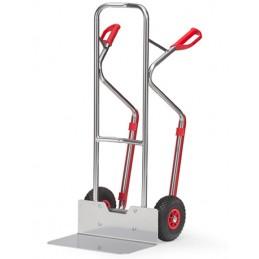 Diable aluminium capacité 200 kg roues gonflables.