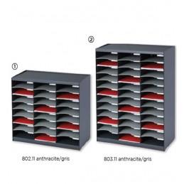 Trieurs monobloc couleur superposables : les modèles