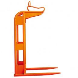 Lève-palette écartement et hauteur fixe équilibrage manuel.