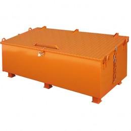 Coffre à outils de chantier acier peint ou galvanisé
