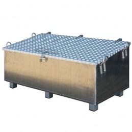 Coffre à outils de chantier en aluminium