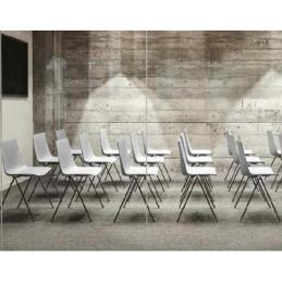 Lot de 4 chaises pour salle de réunion