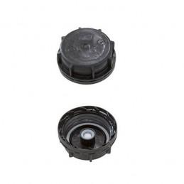 Bouchon simple DIN 51 pour jerrycans coloris noir.