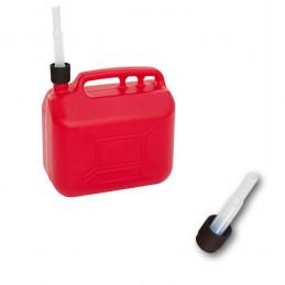 Jerrycan essence 10 litres avec ligne de visibilité