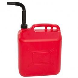 Jerrycan essence 20 litres avec ligne de visibilité