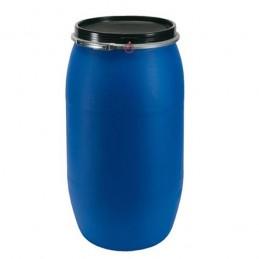 Fût 220 litres avec couvercle et joint en caoutchouc