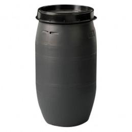 Fût  120 litres pour les solides en usage international.