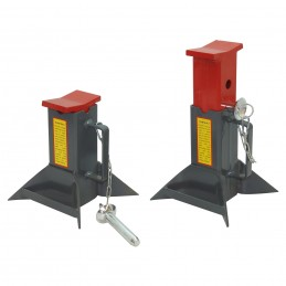2 chandelles stabilisatrices de 7 T