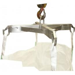 Palonnier de levage inox pour big-bag