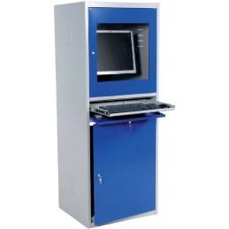 Armoire informatique pour atelier avec auto-ventilation