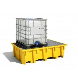 Bac de rayonnage 1050 Litres avec par exemple un container IBC