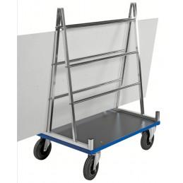 Chariot pour le transport de panneaux jusqu'à 500 kg