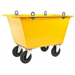 Chariot à déchets 400 litres avec crochets