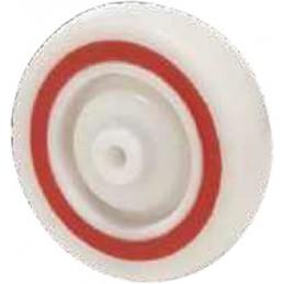 Roues industrielles corps polyamide avec anneau amortisseur