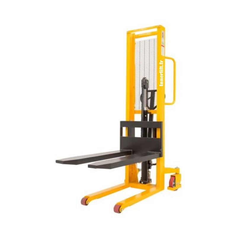 Gerbeur manuel 1000 kg levée 1600 mm Innerlift