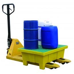 Bac de rétention sur pieds 70 litres