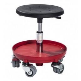 Tabouret d'atelier à roulettes doubles Sigma 400P