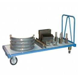 Chariot industriel longueur 1700 mm renforcé