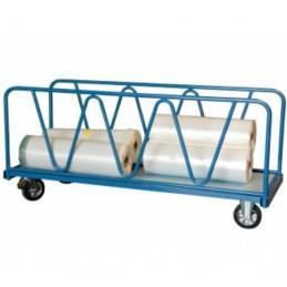 Chariot industriel pour charges lourdes 1600 x 800 mm