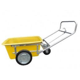 Chariot pour bac à mortier