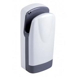 Sèche-mains a aire pulsé avec filtre blanc