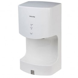 Séche-mains à air pulsé 1350W blanc