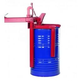 Manipulateur pivotant de fût 300 kg, prise verticale.