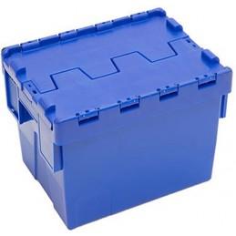 Bac navette 400 x 300 mm hauteur 264 mm couleur bleu.