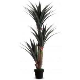 Plante artificielle yucca pour le bureau hauteur 155 cm.