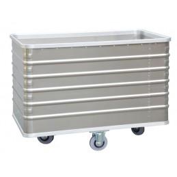 Chariot conteneur 415 litres aluminium sans couvercle