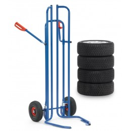 Diable pour le transport de pneus