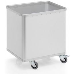 Chariot 230 litres en aluminium anodisé