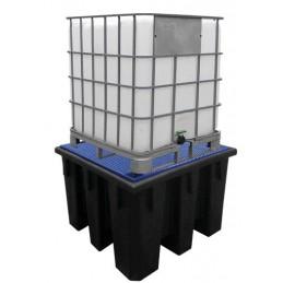 Bac de rétention 1100 Litres emboîtable pour IBC