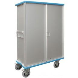 Chariot armoire 640 litres avec 2 compartiments