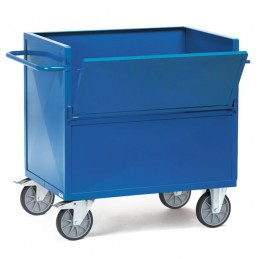 Chariot tôlé acier capacité 600 kg