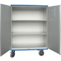 Chariot armoire 1080 litres avec 3 compartiments