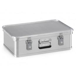 Boîte aluminium 588 x 388 pour transport de matières dangereuses 29 litres.