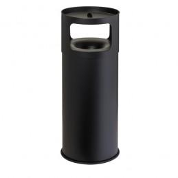 Poubelle 90 litres avec cendrier