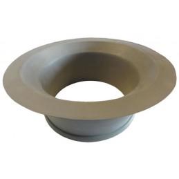 Joint de vide ordures en caoutchouc gris 201 mm
