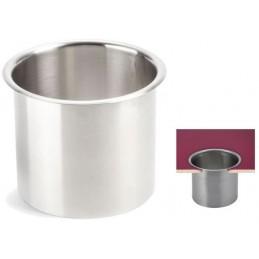 Joint de vide ordures 170 mm en inox à encastrer